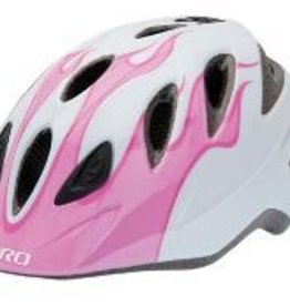 GIRO HELMET RASCAL Pink/White Flames