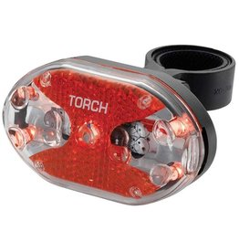 Torch Torch, Tail Bright 5X, Flashing light, Rear