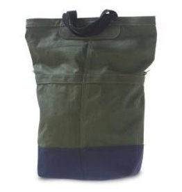 LINUS SAC BAG, ARMY GREEN/ROYAL, LINUS