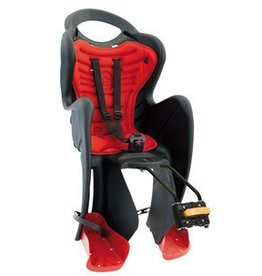MAMMACANGURA MR FOX, STANDARD, BABY SEAT, BLACK
