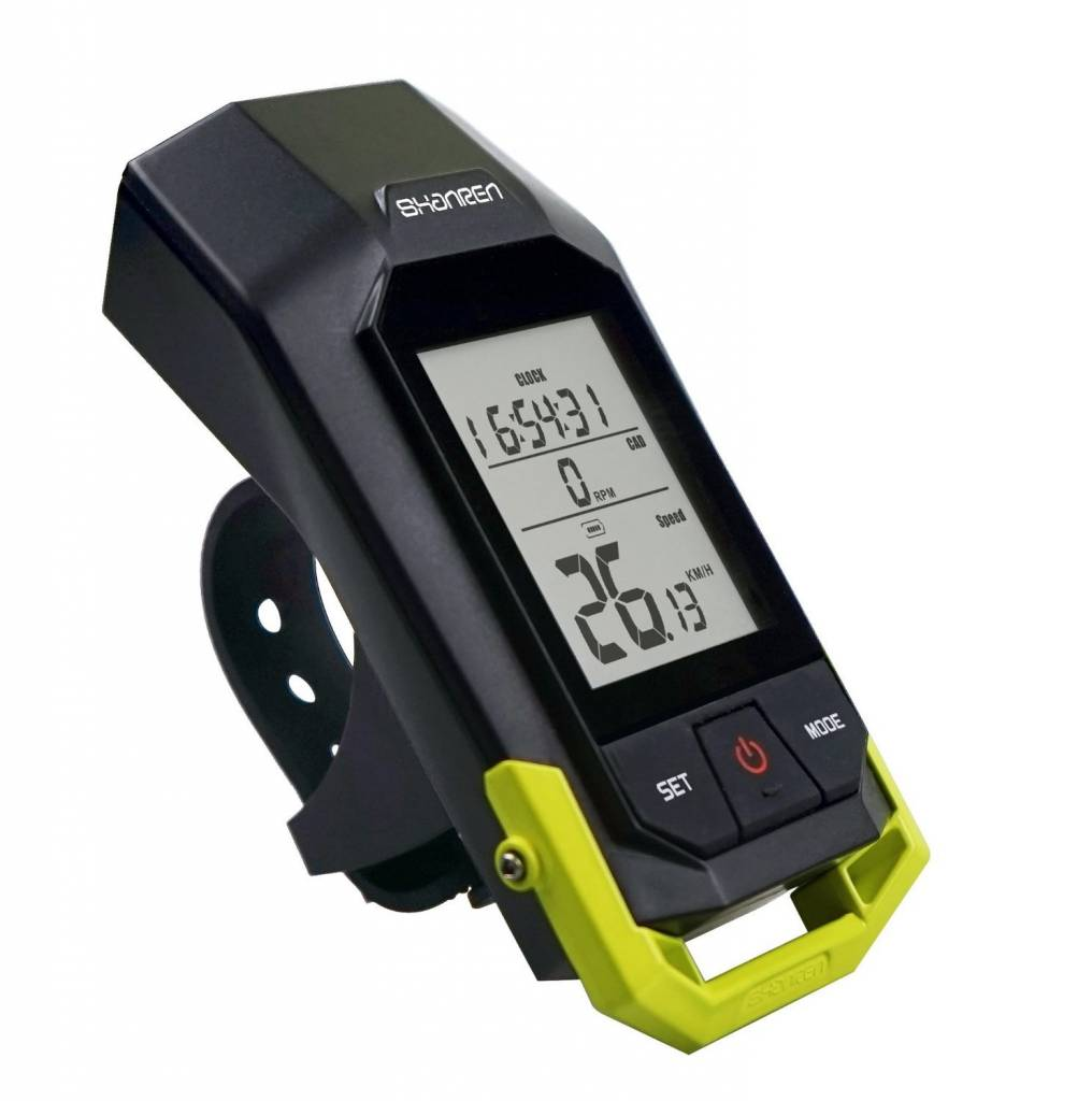 SHANREN RAPTOR II CYCLOMETER & LIGHT