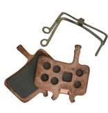 Avid DISC BRAKE PADS, AVID, JUICY & BB7, Sintered metal, Steel back plate, pair