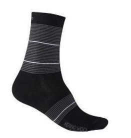 Giro Footwear - Souliers Giro MERINO SEASONAL WOOL BLK/WHITE STRIPE
