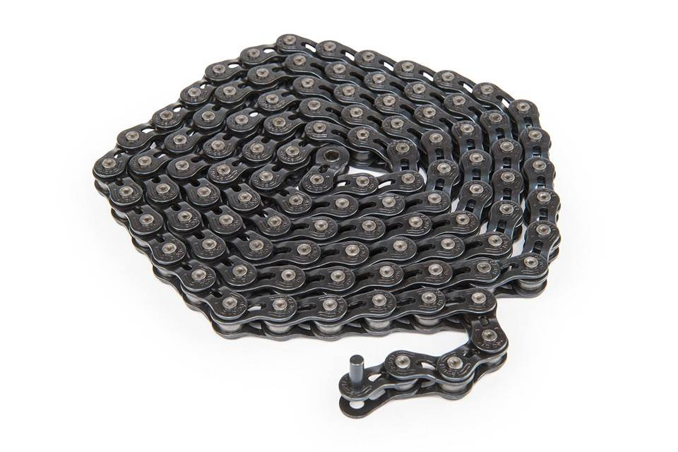 ECLAT ECLAT STROKE LIGHT HALF LINK CHAIN BLACK