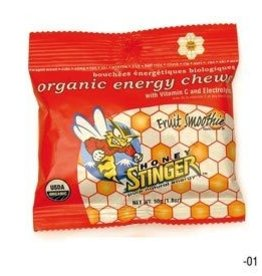 Honey Stinger Honey Stinger, Organic Energy Chews, Box of 12 x 50g, Cherry Blossoms