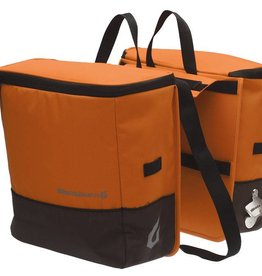 BLACKBURN-COPILOT ACCESS. LOCAL COOLER SADDLEBAG PANNIER ORG/GRN