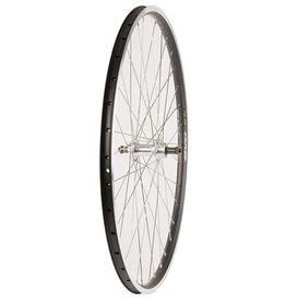 Wheel Shop,  EVO E-Tour 19 Black / Stainless Wheel, Rear, 700C, 36 spokes, FM-31-RQR, QR