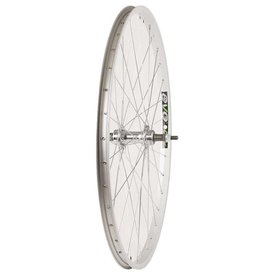 Wheel Shop,  EVO E-Tour 20 Silver/ Stainless Wheel, Rear, 26'', 36 spokes, JY-434, Bolt-on, Freewheel