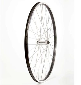 Wheel Shop,  EVO E-Tour 19 Black / Stainless Wheel, Front, 700C, 36 spokes, FM21-FQR, QR