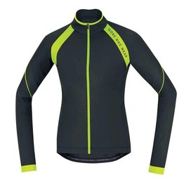 Gore Bike Wear Gore Bike Wear, Power 2.0 Thermo Lady, Long sleeve jersey, (KWPOWE9908), Black/Neon Yellow, M