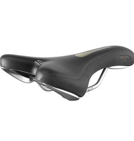 SelleRoyal Selle Royal, Lookin Athletic, Saddle, 266 x 144mm, Unisex, 295g, Black