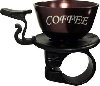 COFFEE CUP, BELL, DARK BROWN