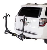 Saris Saris, SuperClamp EX, Hitch mounted bike rack, 2 Bikes, 1-1/4'' and 2'', Black
