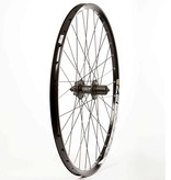 WHEEL SHOP Wheel Shp, Rear 27.5'' Wheel Sun Infern 27/ Shiman FH-M525 Black, DT Stainless Black Spkes X 32, QR Axle, 9/10 sp