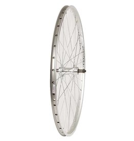Roues Rear 26'' Alex ACE-17 Wheel Silver/ FM-31 Silver, 36 Steel Spokes, QR Axle, Freewheel