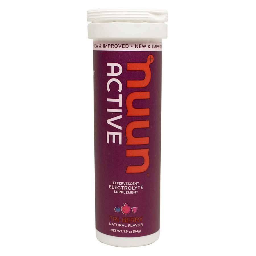Nuun Nuun Active Hydration Tablets, 8 tubes, Tri-Berry