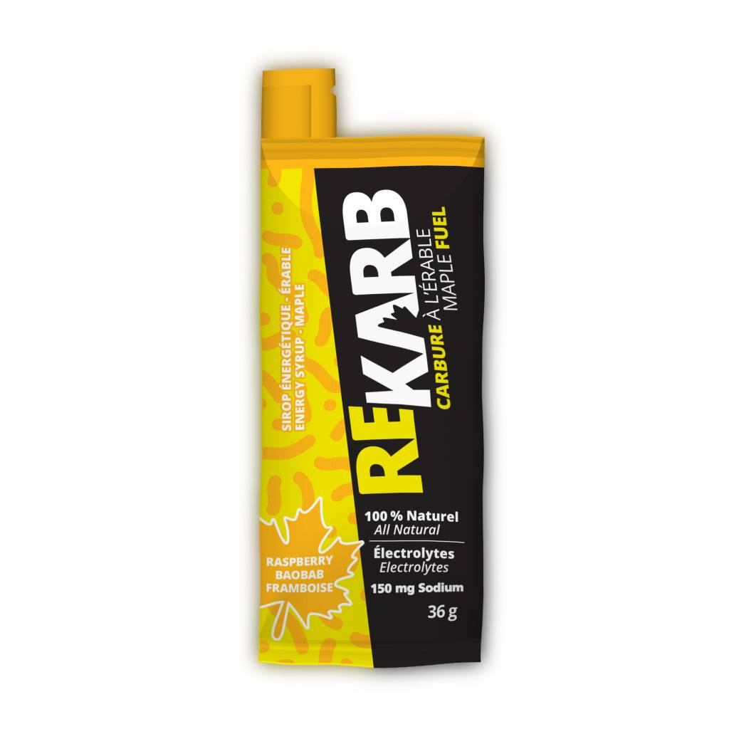 REKARB RASPBERRY ENERGY SYRUP single