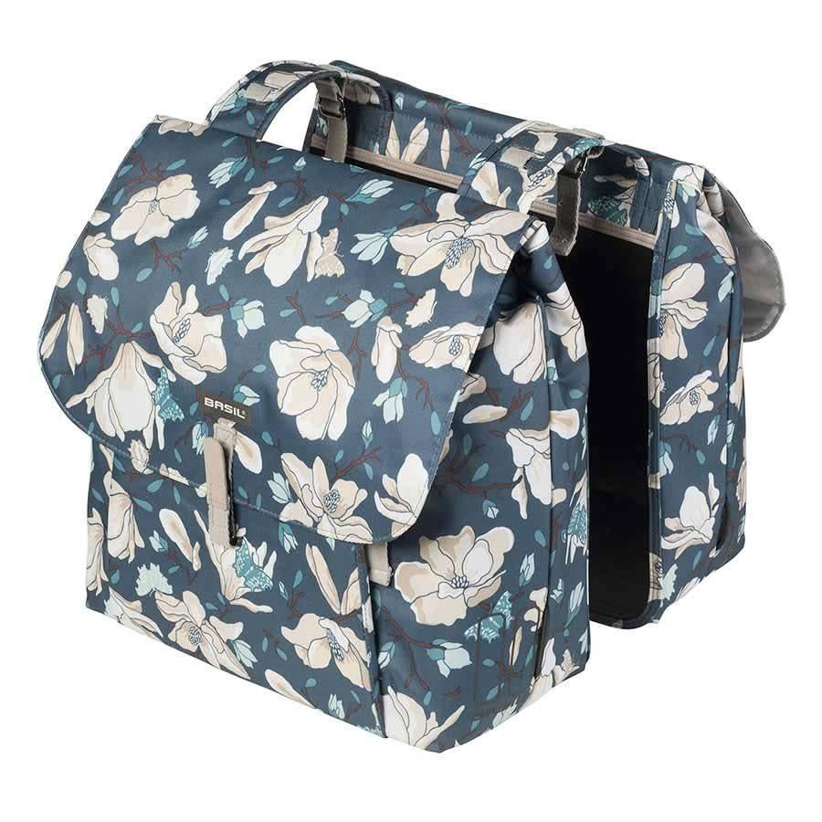BASIL Basil, Magnolia Double Bag, Teal Blue