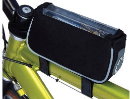 Banjo Brothers Banjo Brothers Top Tube/ Stem Bag: Black