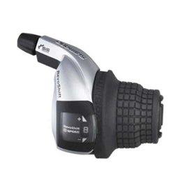 Shimano Shimano, Tourney Revoshift SL-RS45, Shift levers, 6 sp., Black, Pair