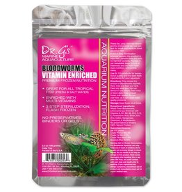 Dr. G's Marine Aquaculture Dr. G's Bloodworms Vitamin Enriched