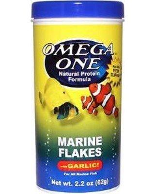 Omega Sea Omega One - Marine Flakes with Garlic
