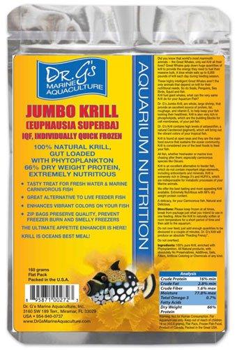 Dr. G's Marine Aquaculture Dr. G's Jumbo Krill 3.5oz