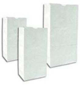 2lb. White Popcorn Bags  500ct.