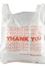 Inteplast Bags,  Thank You Bags 1000ct. Case