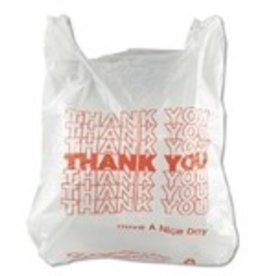 Integrated System IBS Inteplast Bags,  Thank You Bags 1000ct. Case