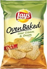 FRITO-LAY/LARGE SINGLE SERVE Baked Lays Sour Cream & Onion LSS Bag
