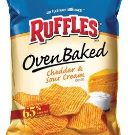 Baked Ruffles Cheddar & Sour Cream, LSS Bag