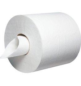 "Centerpull Towel, 2-Ply White 8x10"" 6/600ct. Case"