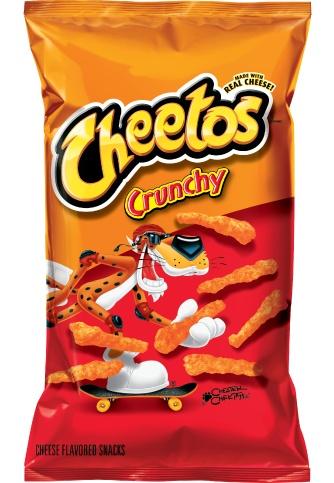 FRITO-LAY/LARGE SINGLE SERVE Cheetos Crunchy, LSS Bag