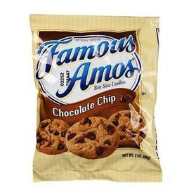 Famous Amos Chocolate Chip Cookies, Bag