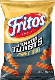 Fritos Flvr Twist Honey BBQ, LSS Bag