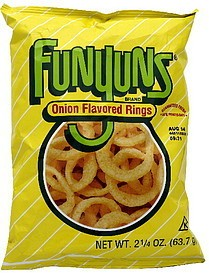 FRITO-LAY/LARGE SINGLE SERVE Funyuns LSS, Bag