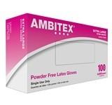 Gloves, Powder Free Latex X-Large 100ct. Box