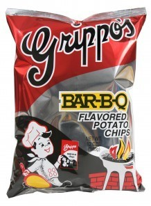 Grippos BBQ Chips SS Bag
