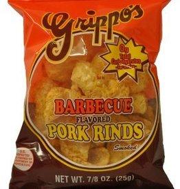 Grippos BBQ Pork Rinds, Bag