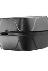 "Dart Container Hinged Cont, Black 6"" Foam (G-1) 500ct. Case"