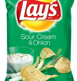 FRITO-LAY/LARGE SINGLE SERVE Lays Sour Cream & Onion LSS, Bag