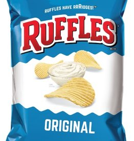 FRITO-LAY/LARGE SINGLE SERVE Ruffles Regular, LSS Bag