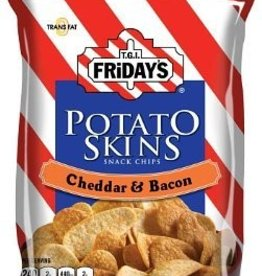 INVENTURE FOODS, INC. TGIF Cheddar & Bacon Tato Skins, Bag