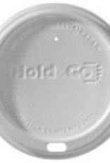 Lids, 12-20oz. White Dome Lid (LHDD) 100ct. Sleeve