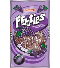 TOOTSIE ROLL Frooties, Grape 360ct. Bag