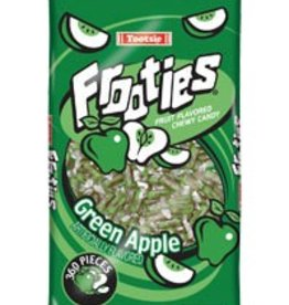 TOOTSIE ROLL Frooties, Green Apple 360ct. Bag