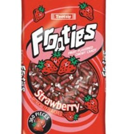 TOOTSIE ROLL Frooties, Strawberry 360ct. Bag