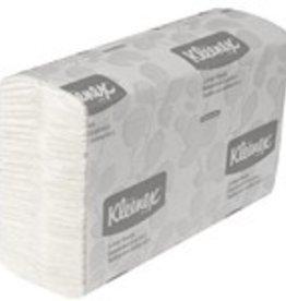 Kimberly-Clark C-fold Towels,  White Kleenex (01500) 16/150ct. Case