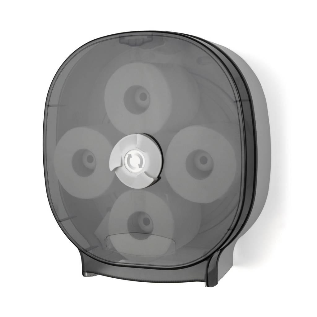Dispenser, 4-Roll Carousel Tissue Dispenser